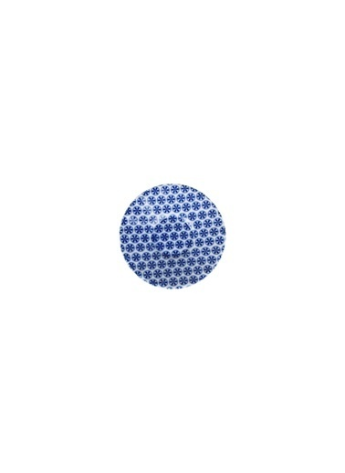 Porland Blue Desen4 Ergo Çay Tabağı 11Cm Renkli